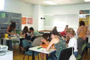 Los alumnos que participan en el curso que se imparte en el Cefo de Islantilla.