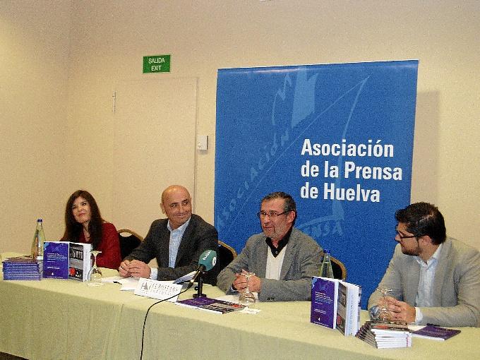 Bárbara Yáñez, Jesús Velasco, Rafael J. Terán y Jesús Cruz