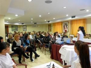 Seminario de Alissi Bronte y Thalissi celebrado en la capital.