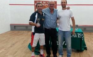Ludovico Crespo y Antonio Amaro son los favoritos en la la categoría de + 40.