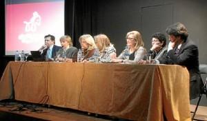 Familiares de Juan Ramón y moguereños residentes en Madrid fueron algunos de los asistentes.