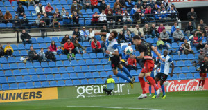 El triunfo del Recre en Alicante ha dado mucha moral al equipo. / Foto: www.recreativohuelva.com.