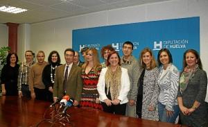 Los integrantes de la nueva Unidad de Prevención Social.