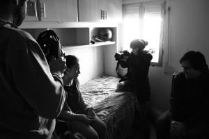 Segundo set de rodaje de la webserie onubense.