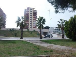 Aparcamientos en Punta Umbría.