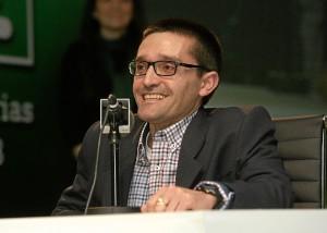 El vendedor de la Once, Luis Carlos Martínez.