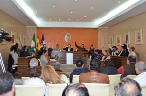 Pleno de Almonte correspondiente al mes de febrero.