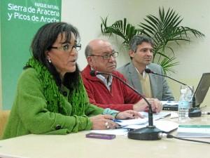 Reunión de la Junta Rectora del Parque Natural Sierra de Aracena y Picos de Aroche.