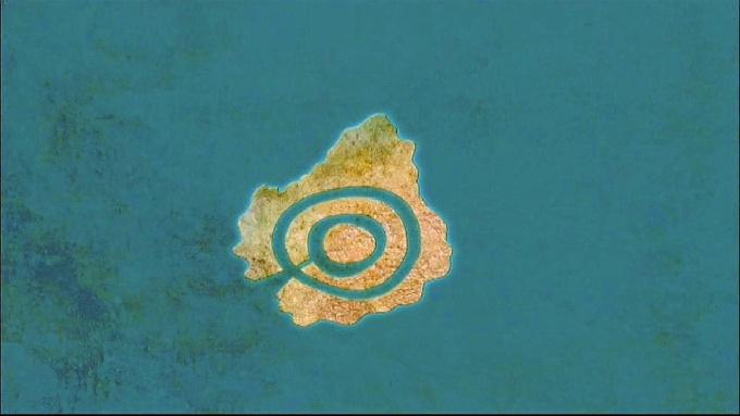Poseidón creó círculos en torno a la montaña para proteger a su amada Clito.