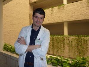 El médico rehabilitador Carlos Cordero.