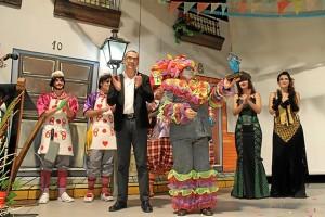 Acto del Carnaval de Bollullos.