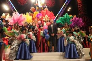 Carnaval de la Luz en una pasada edición.