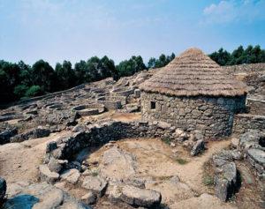 Típica construcción celta.