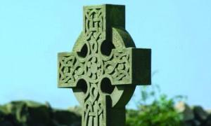 Imagen de la típica cruz celta.
