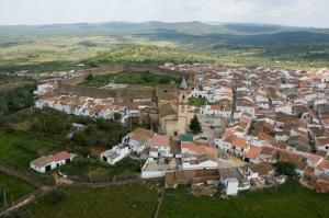 Vista del municipio de Cumbres Mayores. / Foto: Ayuntamiento de Cumbres Mayores