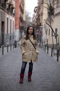 Elvira Navarro está afincada en Madrid desde hace años. / Foto: Asís Ayerbe.
