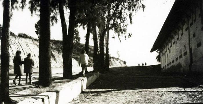 Vía Paisajista de Huelva, antiguo callejón de La Esperanza, hacia 1960