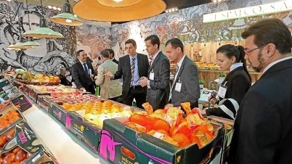 Seis entidades onubenses acuden a Fruitlogística de la mano de Extenda