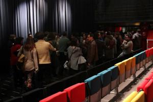 El público en los espectáculos organizados. / Foto cedida por Nereida Rubio.