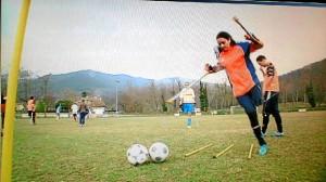 La onubense es la única chica de un equipo de fútbol de personas amputadas que se está creando.