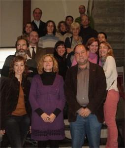 Miembros del Centro de Investigación en Migraciones.