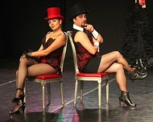 Se trata de un verdadero espectáculo al más puro estilo cabaret.