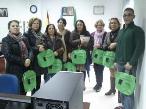 Participantes en los talleres sobre Mujeres 2.0.
