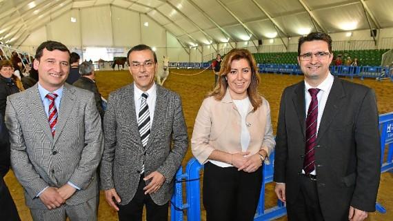 Arranca en Rociana la VI Feria Agroganadera y Comercial de Doñana