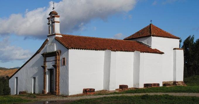 Ermita de San Blas en Zalamea.