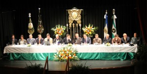 Asamblea Comarcal celebrada en San Juan del Puerto.