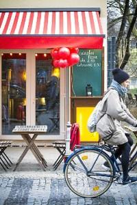 Bicicleta en la capital alemana.