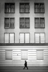 Una de las imágenes de Berlín que componen la exposición.