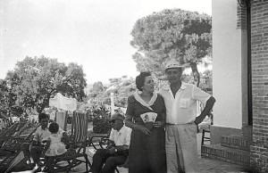Soledad Abril y Juan Mora, ambos maestros.