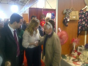 Susana Díaz ha sido la encargada de inaugurar la Feria.