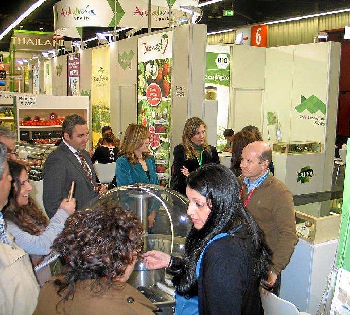 Cuatro empresas onubenses dedicadas a la producción ecológica acuden a la Feria Biofach 2014