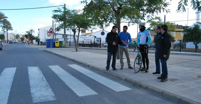 Hinojos espera con entusiasmo el paso de la Vuelta a Andalucía.