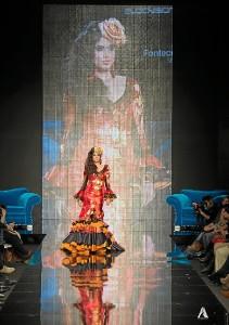 Los diseños de Inma sorprendieron al público. / Foto: Antonio Lozano.