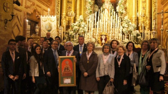 Peregrinación de la Hermandad de Consolación de Cartaya a la Macarena