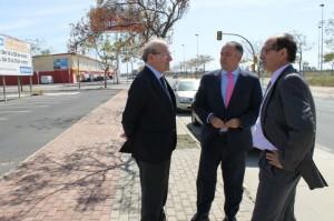 Visita a las instalaciones de Huelva Empresarial.