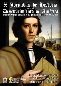 Cartel de las X Jornadas de Historia.