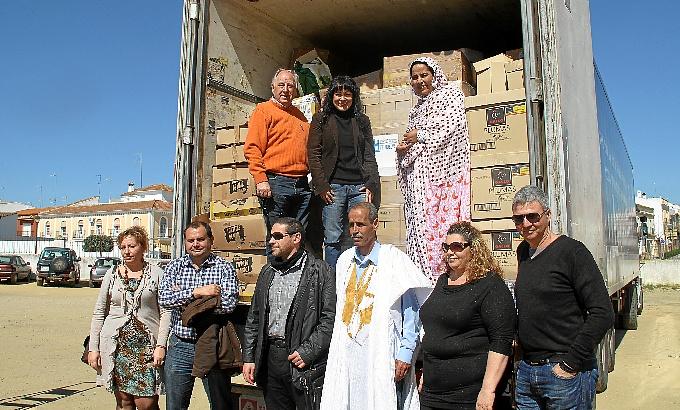 El cargamento viajará hasta los campamentos de refugiados saharauis.