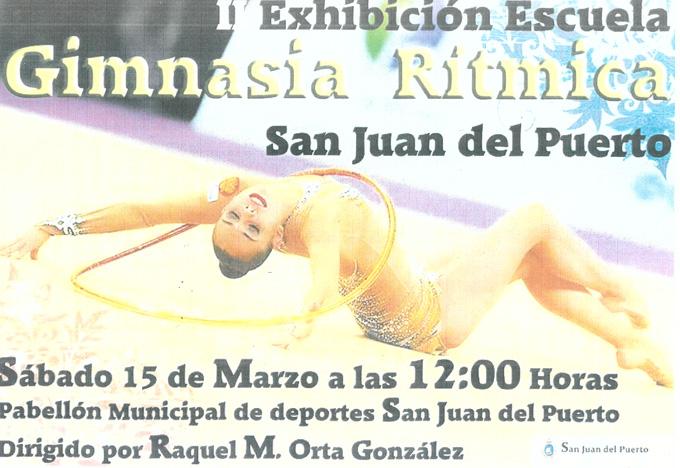 Cartel anunciador del evento que se celebra en San Juan del Puerto.