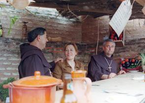 Ir de monje franciscano es otra opción. / Foto: Fiestas de Andalucía.