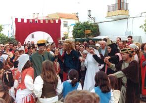 El ambiente está asegurado en Palos. / Foto: Fiestas de Andalucía.