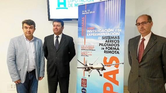 Huelva acogerá unas jornadas sobre sistemas aéreos pilotados de forma remota