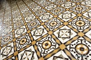 La belleza del suelo del Casino de Lepe.