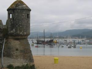 La Pinta llegó a la ciudad gallega de Baiona antes de llegar a Palos.