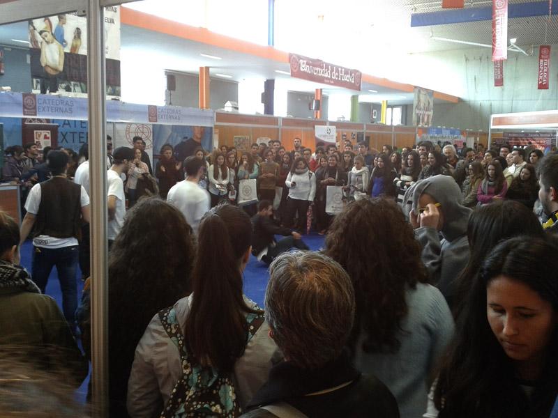 Cerca de 3000 estudiantes pasan por las XIV Jornadas de Puertas Abiertas de la Universidad