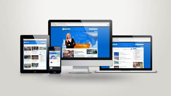 Cambio de diseño y más visitas a las webs de Canalcosta y Condavisión