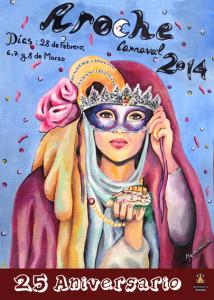 Cartel del Carnaval correspondiente a este 2014.
